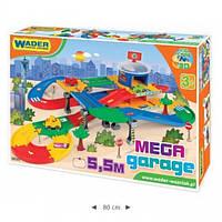 Дитячий гараж Kid Cars з трасою 5,5м Wader 53130