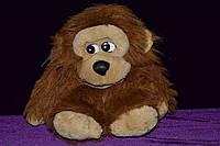 Обезьяна коричневая мягкая игрушка, фото 1
