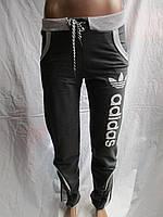 Женские спортивные штаны трикотаж купить в Одессе дёшево качественные (44-52)№8738, фото 1