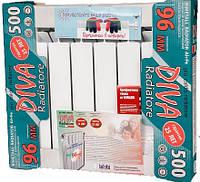Биметаллический радиатор DIVA 500/96