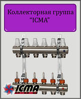 Коллектор ICMA  на 3 контура