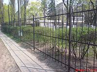 Изготовление металлического забора Киев