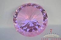 Кристалл на подставке(сереневый) D22
