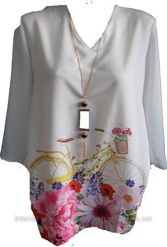 Женская блузка креп Турция