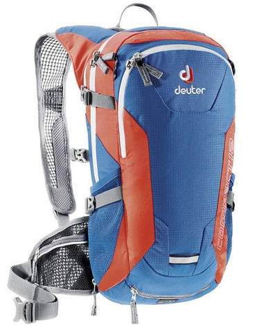 Велорюкзак мужской Deuter Compact EXP 12 bay/papaya (32152 3903)