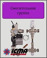 Смесительная группа с циркуляционным насосм 25/60 термостатической регулировкой ICMA
