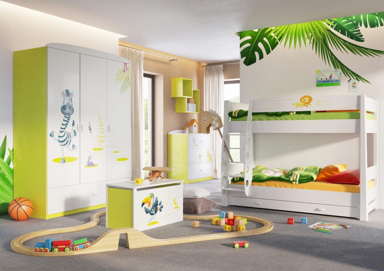 "Комплект детской мебели ""Happy Animals Green"" 2"
