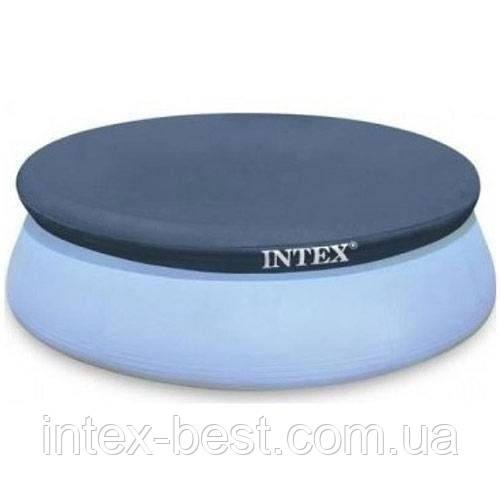 Тент-покрывало Intex 28026, для бассейнов Easy Set Pool диаметром 376 см.