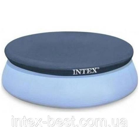 Тент-покрывало Intex 28026, для бассейнов Easy Set Pool диаметром 376 см., фото 2