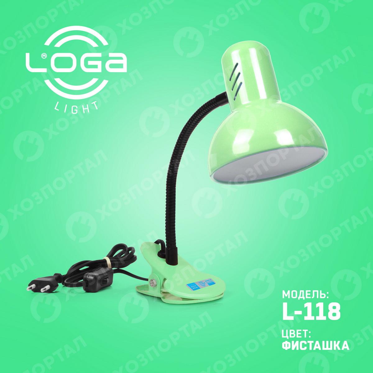 """Лампа-прищіпка """"Фісташка"""" Україна.(ТМ LOGA ® Light)"""