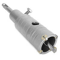 Комплект: сверло корончатое по бетону 36мм+Переходник SDS Plus 100мм INTERTOOL SD-7036