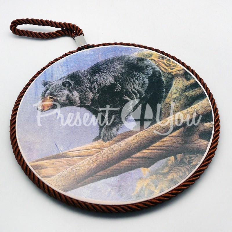 Подставка под горячее «Медведь»
