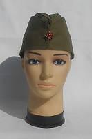 Пилотка военная ВОВ, солдатская со звездочкой, со звездой