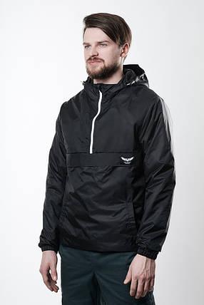 Анорак F&F Waterproof  Black, модная куртка, стильная, фото 2
