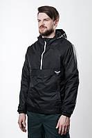 Анорак F&F Waterproof  Black, модная куртка, стильная