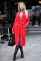 Пальто женское кашемировое в расцветках 9563, фото 1