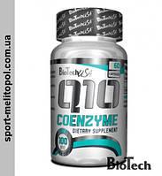 BioTech Natural Q-10 Coenzyme 100 мг 60 капс.