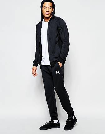 Мужские спортивные штаны Reebok черные, фото 2
