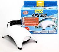 Аквариумный компрессор Тетра APS 300,  4,5Вт  300л/час, двухканальный, белый