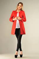Женский Пиджак кардиган  в красном,белом,черном цвете