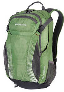 Замечательный городской рюкзак 25 л. KingCamp полиэстер Speed(KB3312) Green