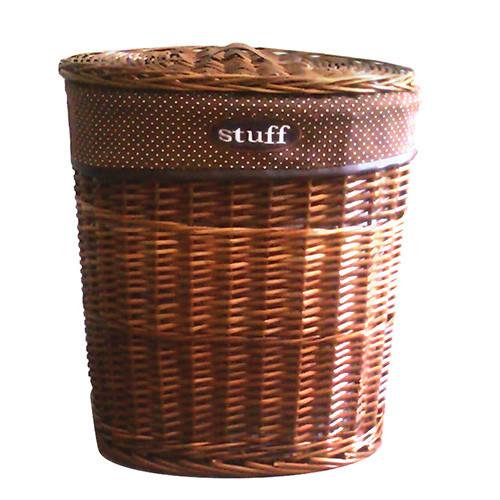Корзина для белья с крышкой плетеная Stuff L AWD02241000