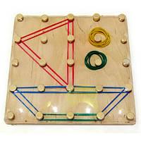 Математический планшет «Геометрические резиночки», Розумний Лис