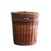 Корзина для белья с крышкой плетеная Stuff M AWD02241001