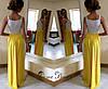 Платье с кружевом и длинным разрезом, фото 3