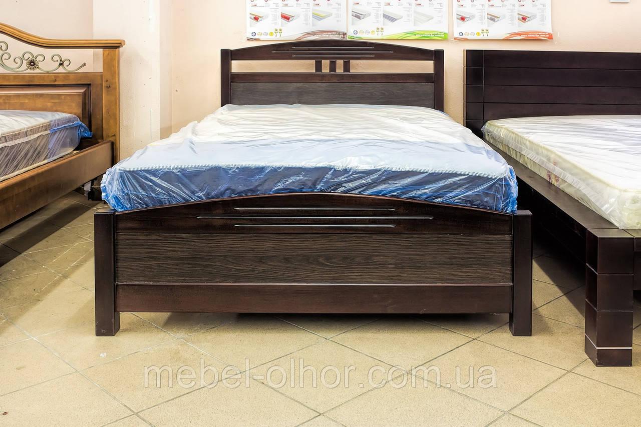 Кровать деревянная София (120*200) венге