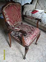 Реставрация антикварного кресла.