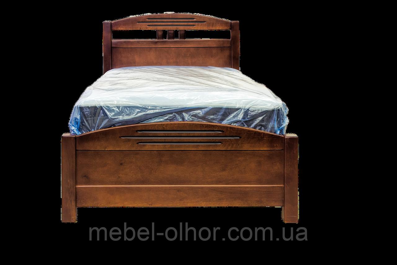 Кровать односпальная  София массив (90*200)