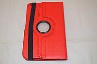 Поворотный 360° чехол-книжка для Samsung Galaxy Tab 3 8.0 T310 T311 T315 (красный цвет)