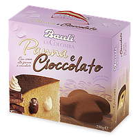 Итальянские куличи (панеттоне) Bauli Cioccolato с шоколадным кремом 750 гр