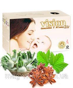 Чай VISION для кормящих мам и повышения лактации - Generation Y Mommy