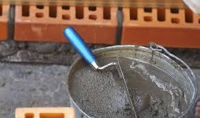 Приготовление раствора для кладки (без щебня) для кладки
