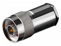 3-0120. Штекер N (RG-58) под кабель, металл