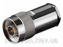 01-21-001. Штекер N (RG-58) под кабель, металл