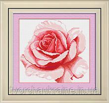 """Набір для малювання камінням (полотно) """"Троянда"""""""