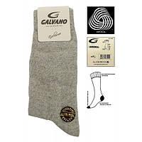 Мужские носки шерстяные Galvano светло-серые 41-44