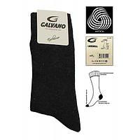 Мужские носки шерстяные Galvano черные 41-44