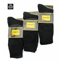 Мужские носки махровые Tekin черные 40-44