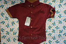 Рубашка Детская 1-6 лет короткий рукав турция