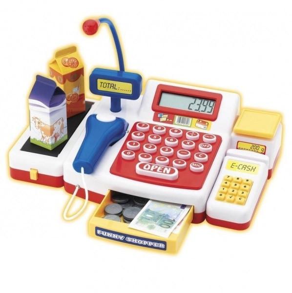Интерактивный Кассовый Аппарат со Сканером и аксессуарами Simba 4525700