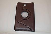 Поворотный 360° чехол-книжка для Samsung Galaxy Tab 4 7.0 T230 T231 T235 (коричневый цвет)