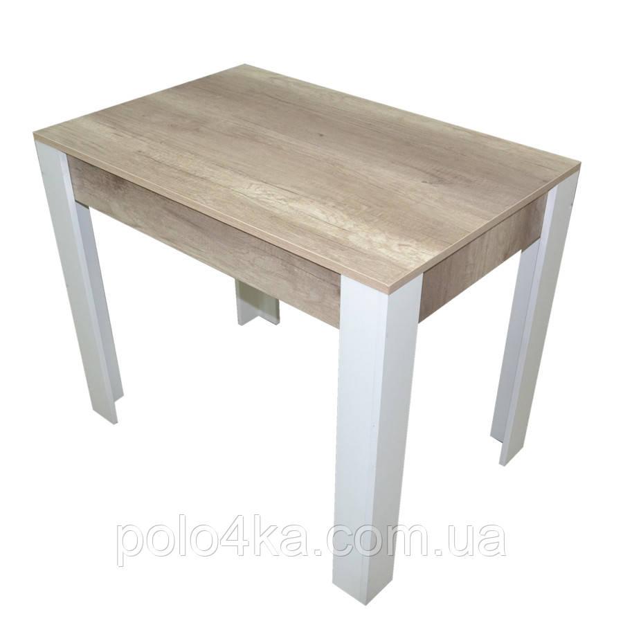 Стол обеденный Стайл ДСП Дуб Каньон/белый