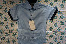 Рубашка короткий рукав 1-6 лет