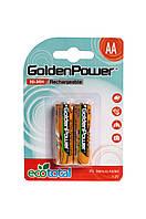 Аккумулятор GOLDEN POWER AA 2700 mAh Ni-Mh 2шт