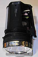 Фонарик аккумуляторный с солнечной панелью Yajia YJ 2882T, фото 1