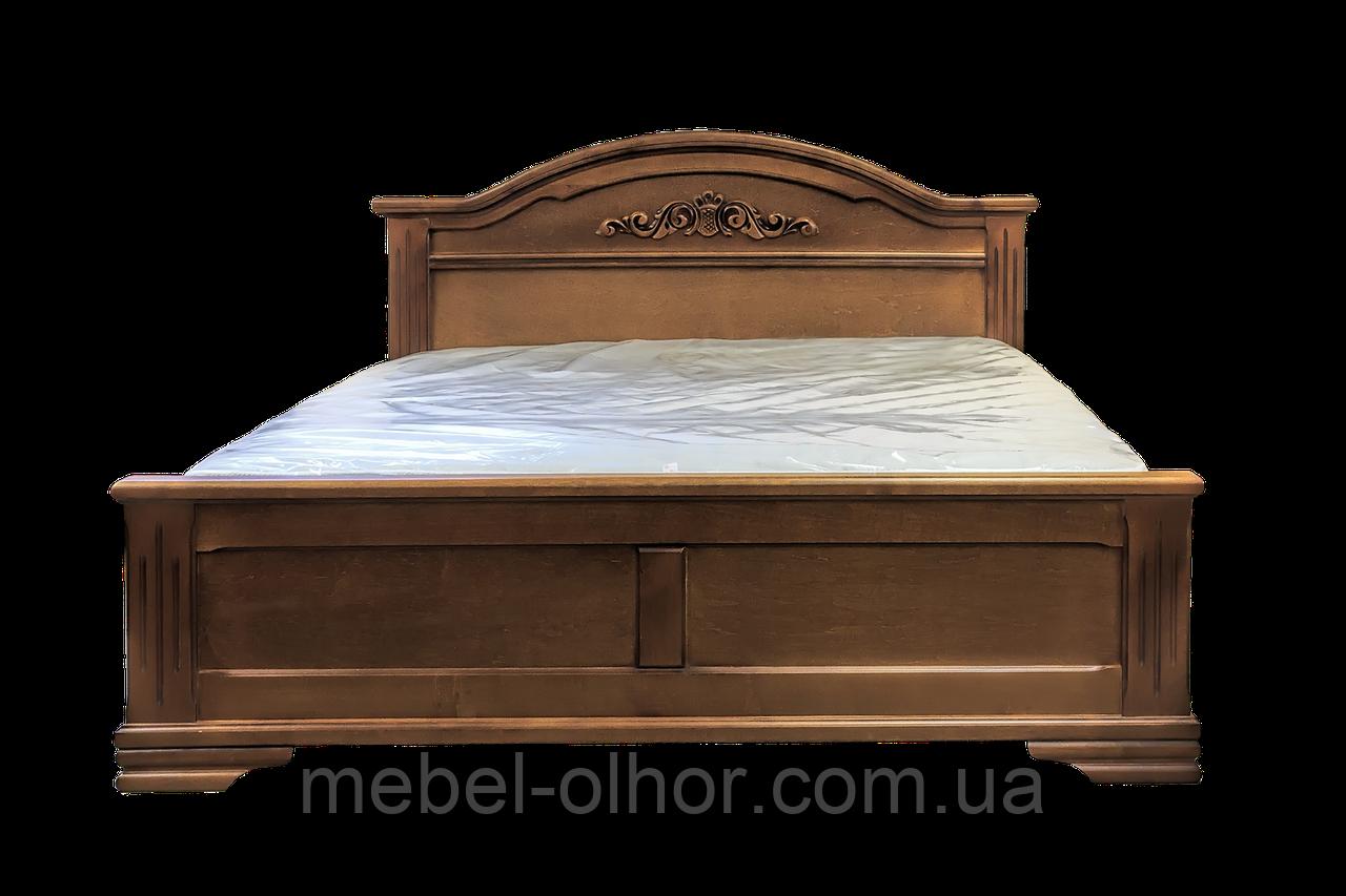 Кровать деревянная Флоренция (140*200) орех